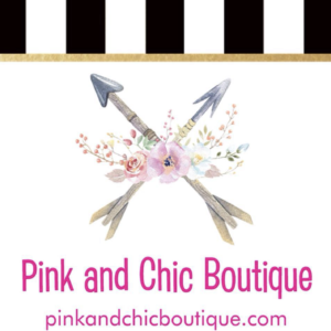 Pink and Chic Boutique Logo