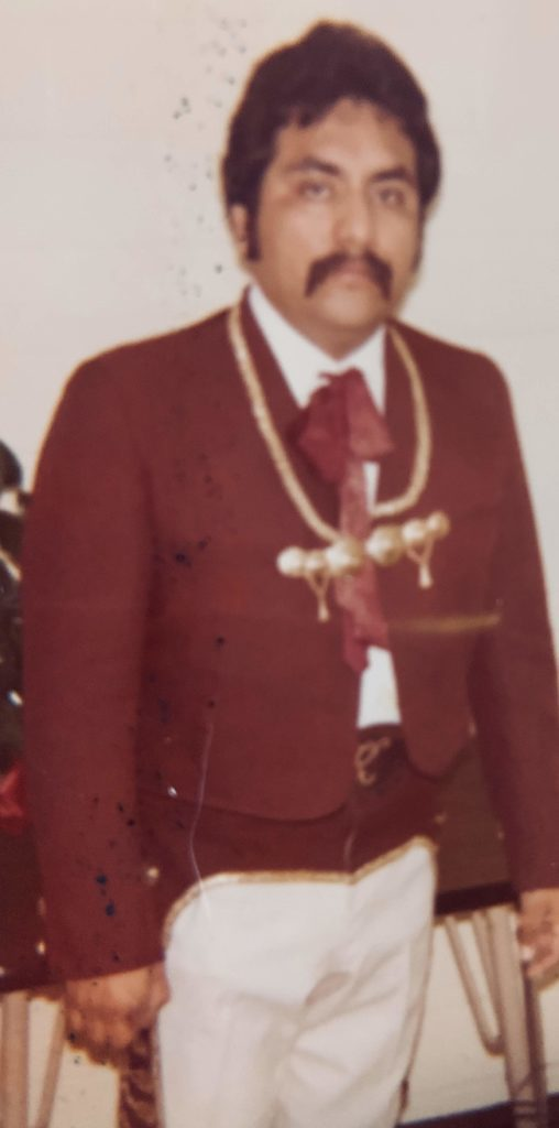 Dad mariachi outfit