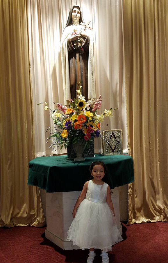 Catholic baptism : Hispanic Culture : Corpus Christi : Coastal Bend Mom Collective