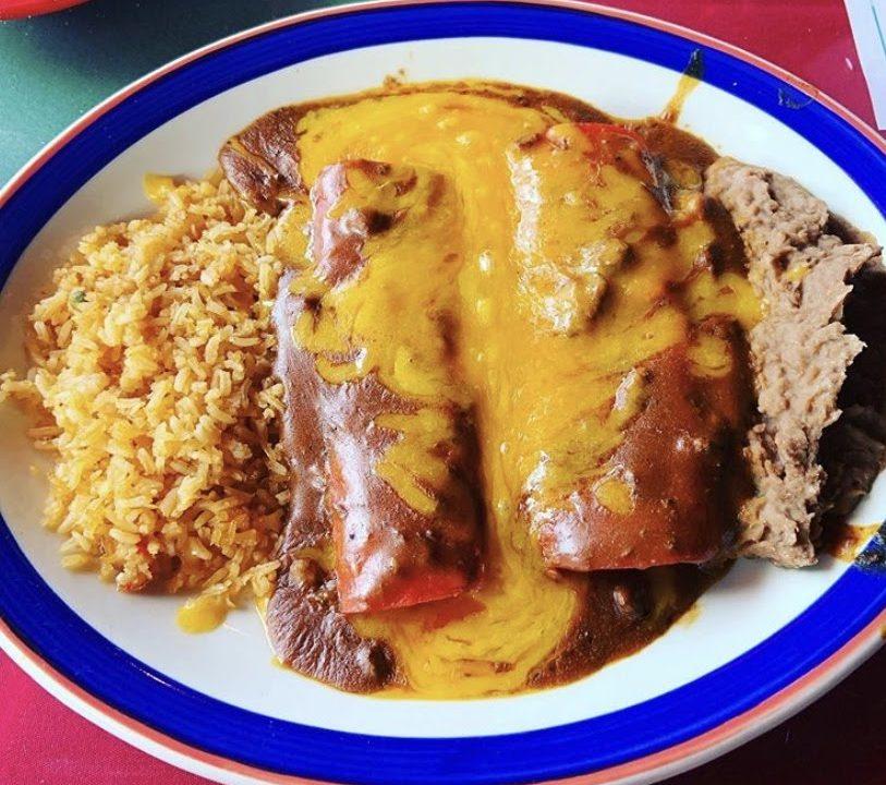 Enchiladas : Hispanic Heritage Month : Mexican Food