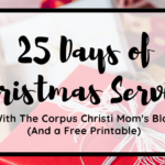 Count down to Christmas: 25 Days of Service