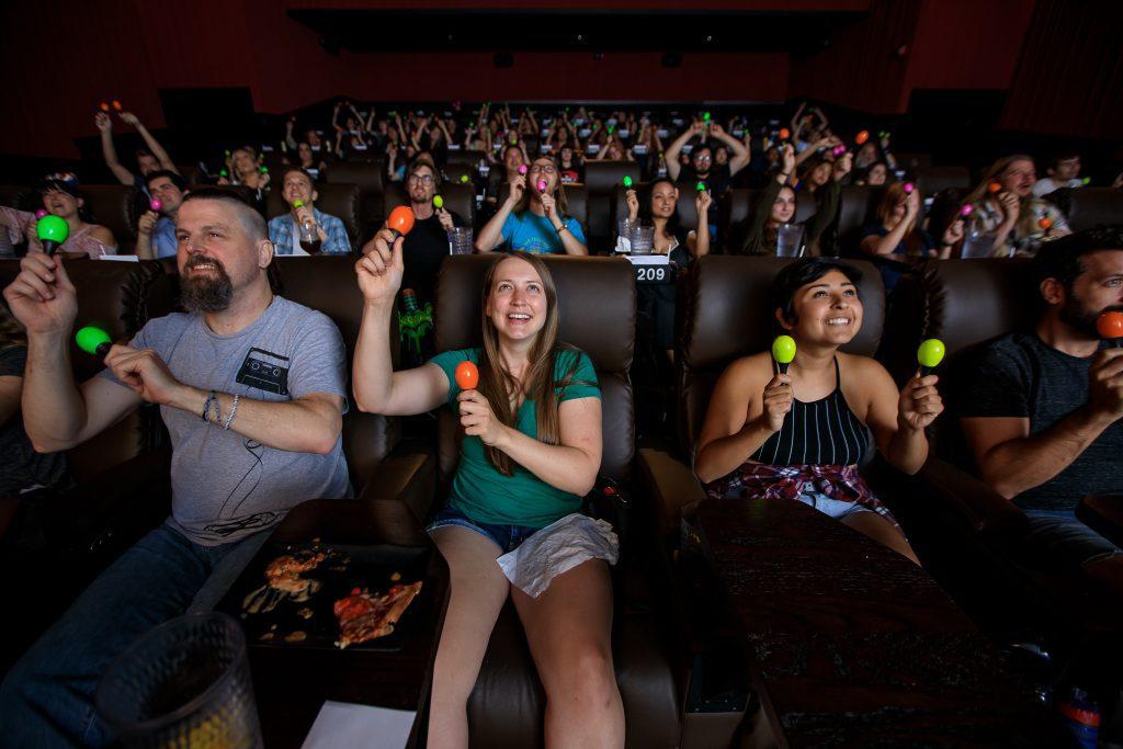 Movie Parties at Alamo Drafthouse Cinema.