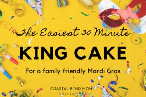 dyi easy king cake: Corpus Christi Mom's Blog