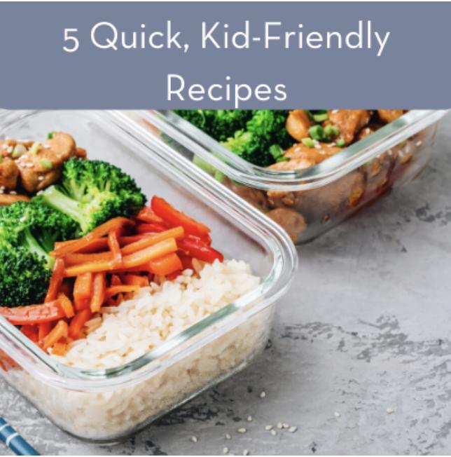 5 Quick Recipes