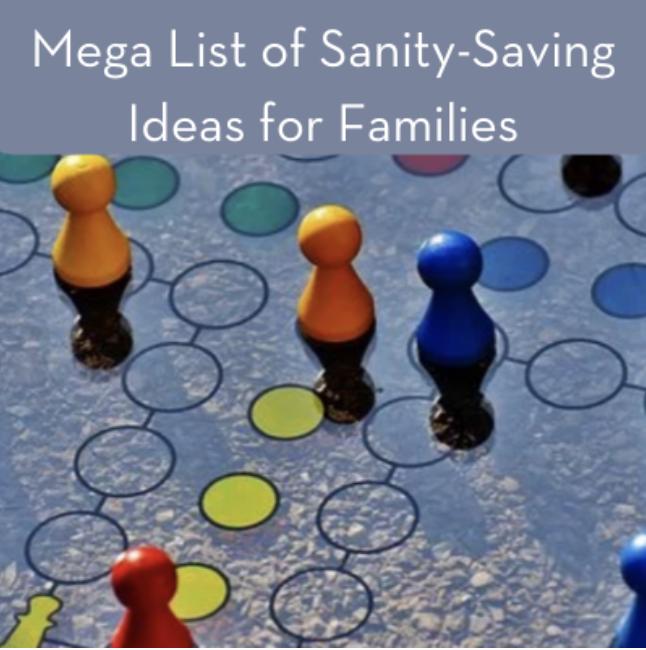 Mega List to Save Sanity