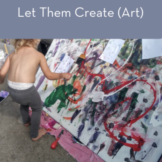 Let them Create Art