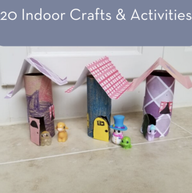 20 Indoor Crafts at Home