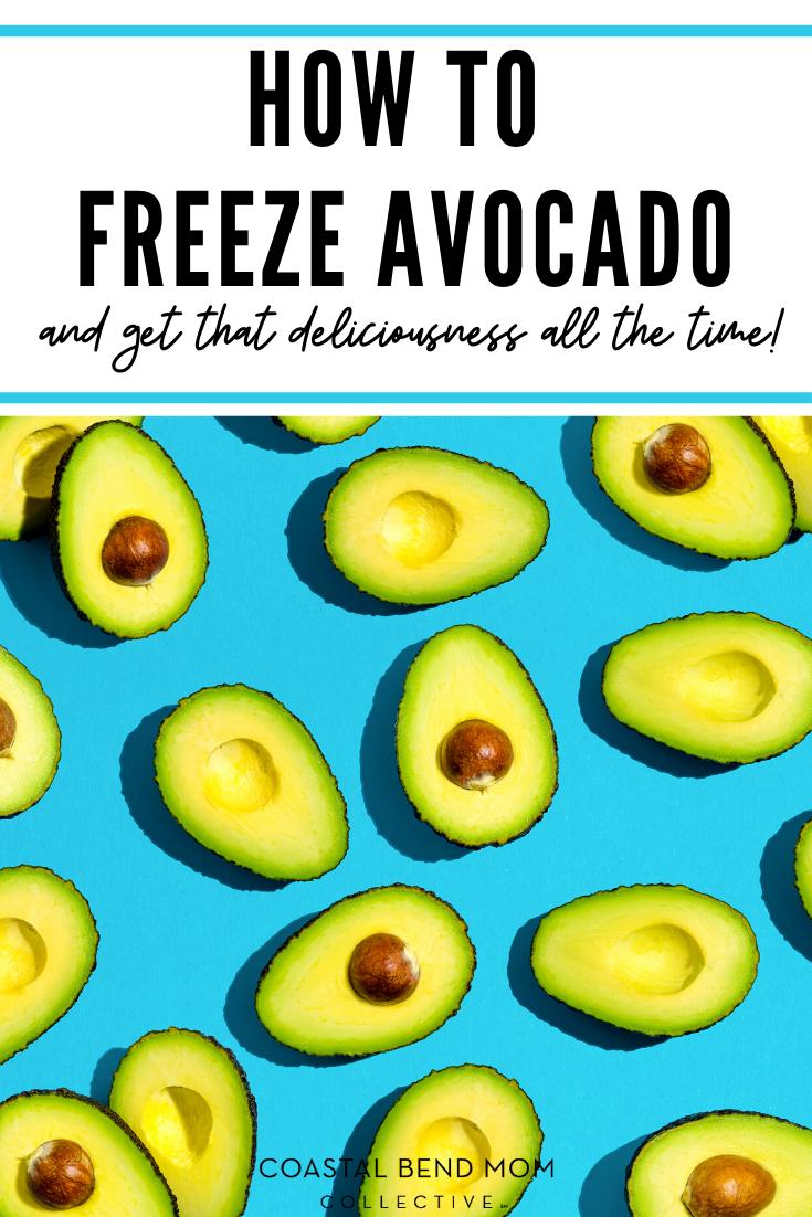 Hot To Freeze Avocado _ Pin