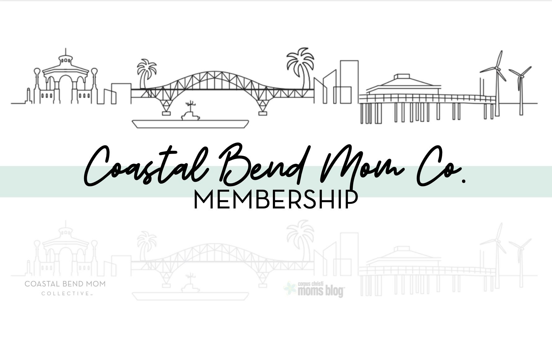Coastal Bend Mom Co Membership Card