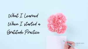 Gratitude Practice: Corpus Christi Mom's Blog