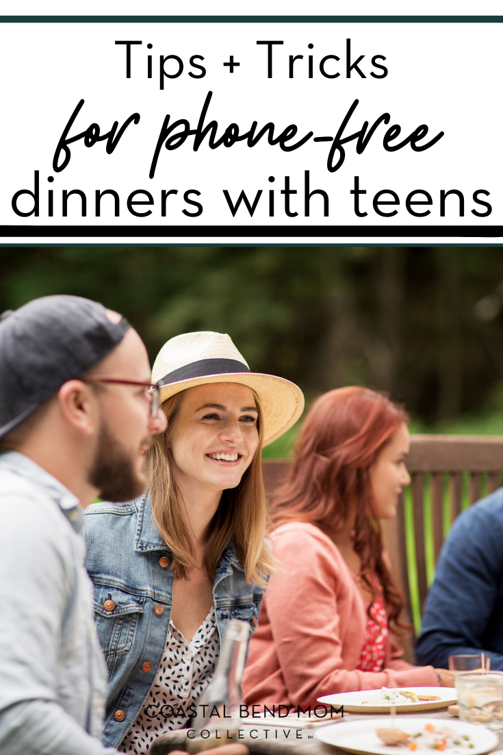 PIN_ Phone Free Dinner with Teens