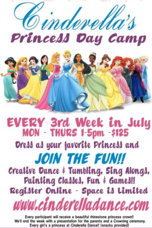 Cinderella Princess Camp