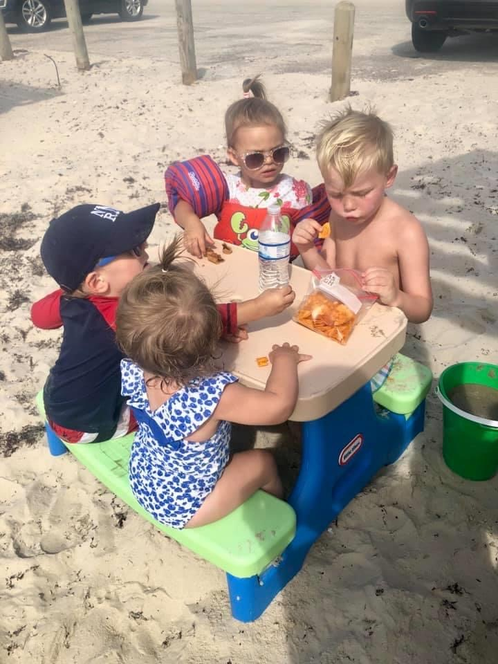 Collapsible Kid Table | Beach Trip | Coastal Bend Mom Collective