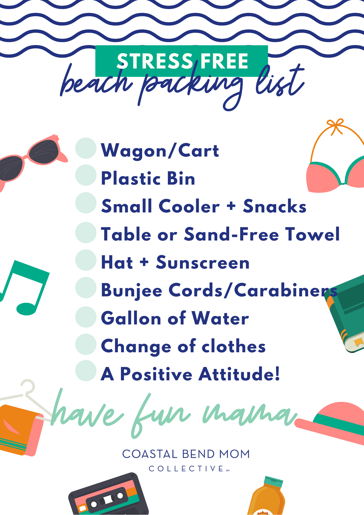 Stress Free Beach Packing List