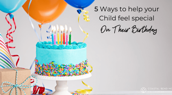 5 ways to help children feel special on their birthday