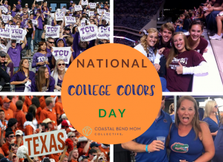 College Colors Day | Coastal Bend Mom Collective