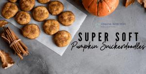 Pumpkin Snickerdoodles: Coastal Bend Mom's Collective
