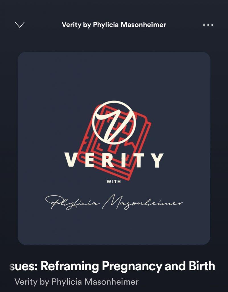 Verity Podcast Logo