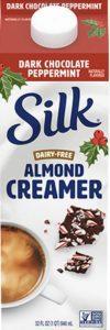 Product Image: Silk Almond Creamer : Dark Chocolate Peppermint