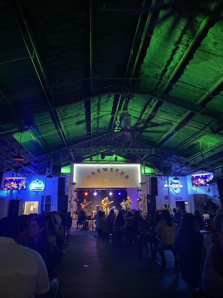 Concert at Brewster Street