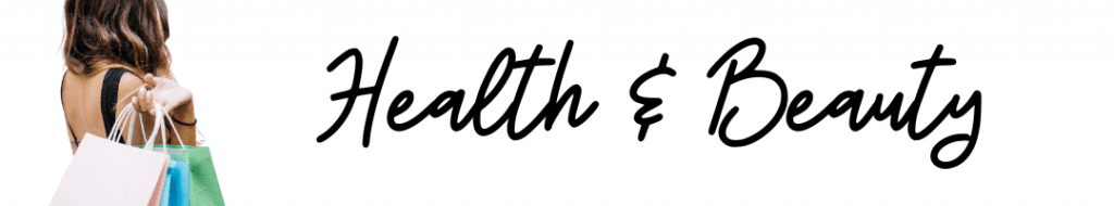Health & Beauty Header