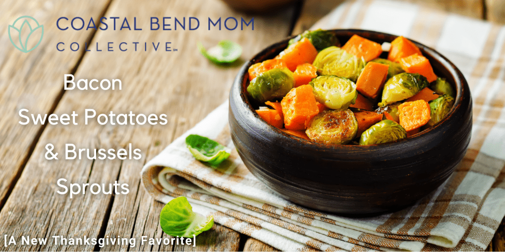 Bacon Sweet Potatoes & Brussels Sprouts