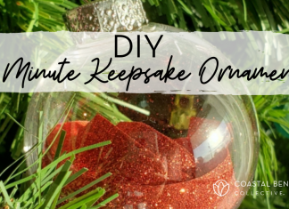 Diy 5 minute Ornament