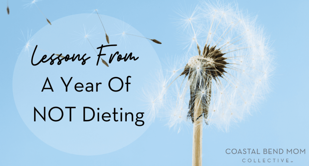 lessons from a year of not dieting