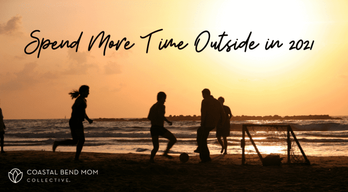 spend more time outside