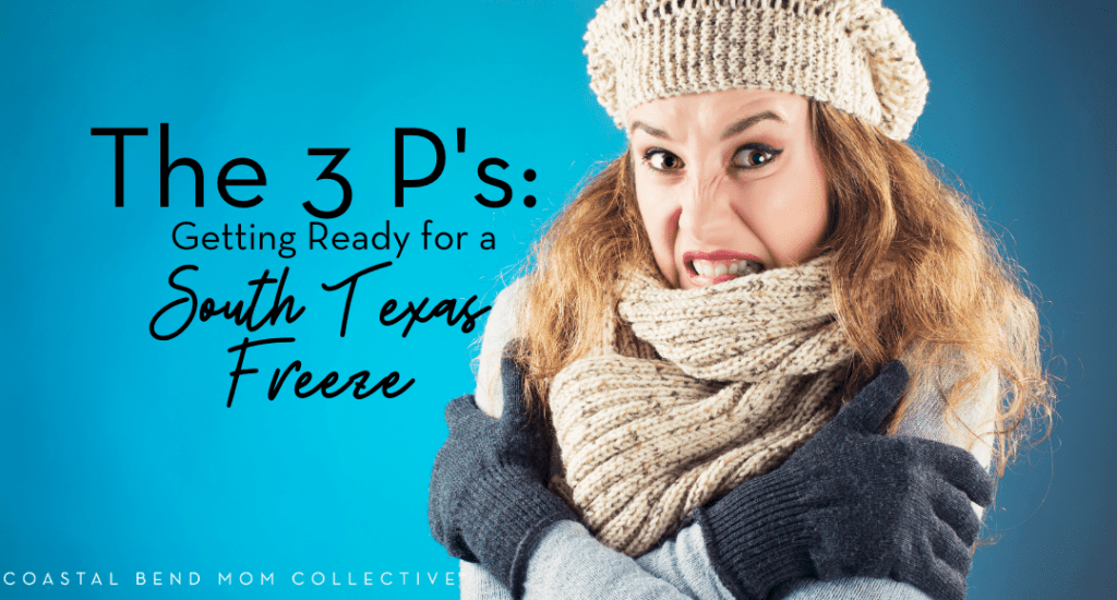 Texas Freeze Tips : Coastal Bend Mom Collective