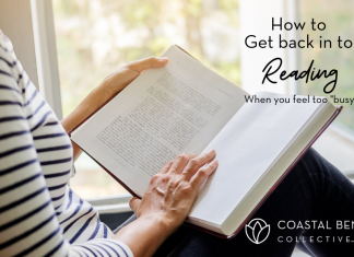 back in to reading: Coastal Bend mom