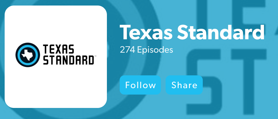 podcasts from the lone star state