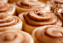 Easy Cinnamon Rolls: coastal Bend mom