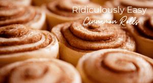 Easy Cinnamon Rolls: coastal Bend mom