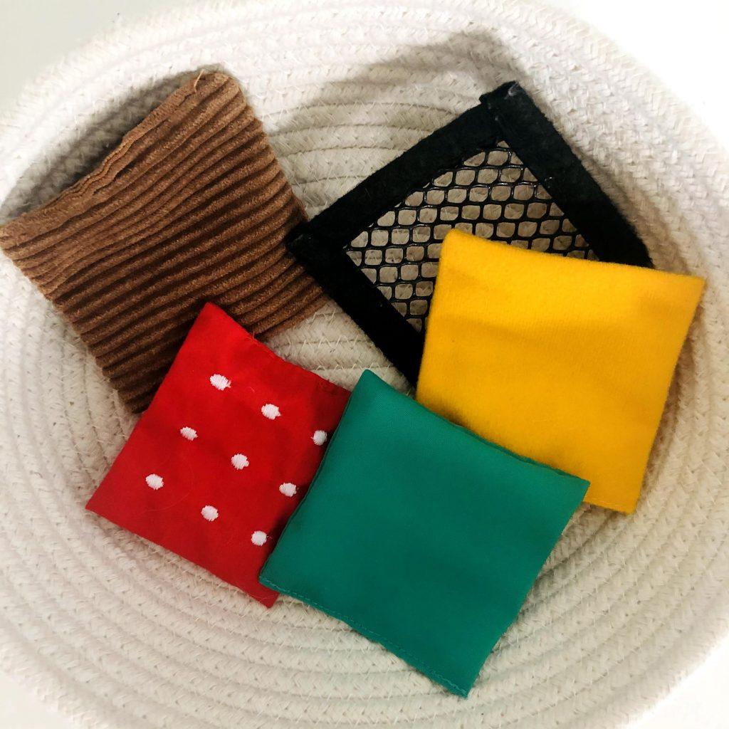 Textured Fabric Treasure Basket