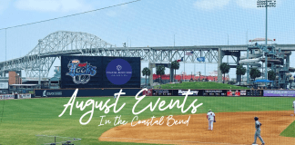 August Events in the Coastal Bend | Sponsored by the Corpus Christi Hooks