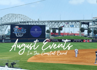 August Events in the Coastal Bend   Sponsored by the Corpus Christi Hooks