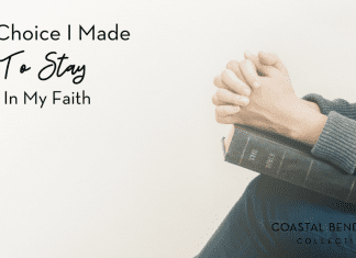 The Choice I Made to Stay in my Faith : Coastal Bend Mom Collective