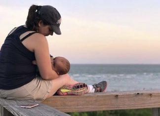 Breastfeeding at the beach : Coastal Bend Mom Collective