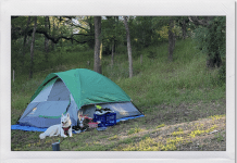 Camping at Turkey Bend | Tent | Coastal Bend Mom Collective