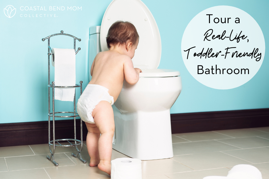 Real-Life, Toddler-Friendly Bathroom