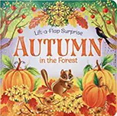 Autumn in the Forest fall board book