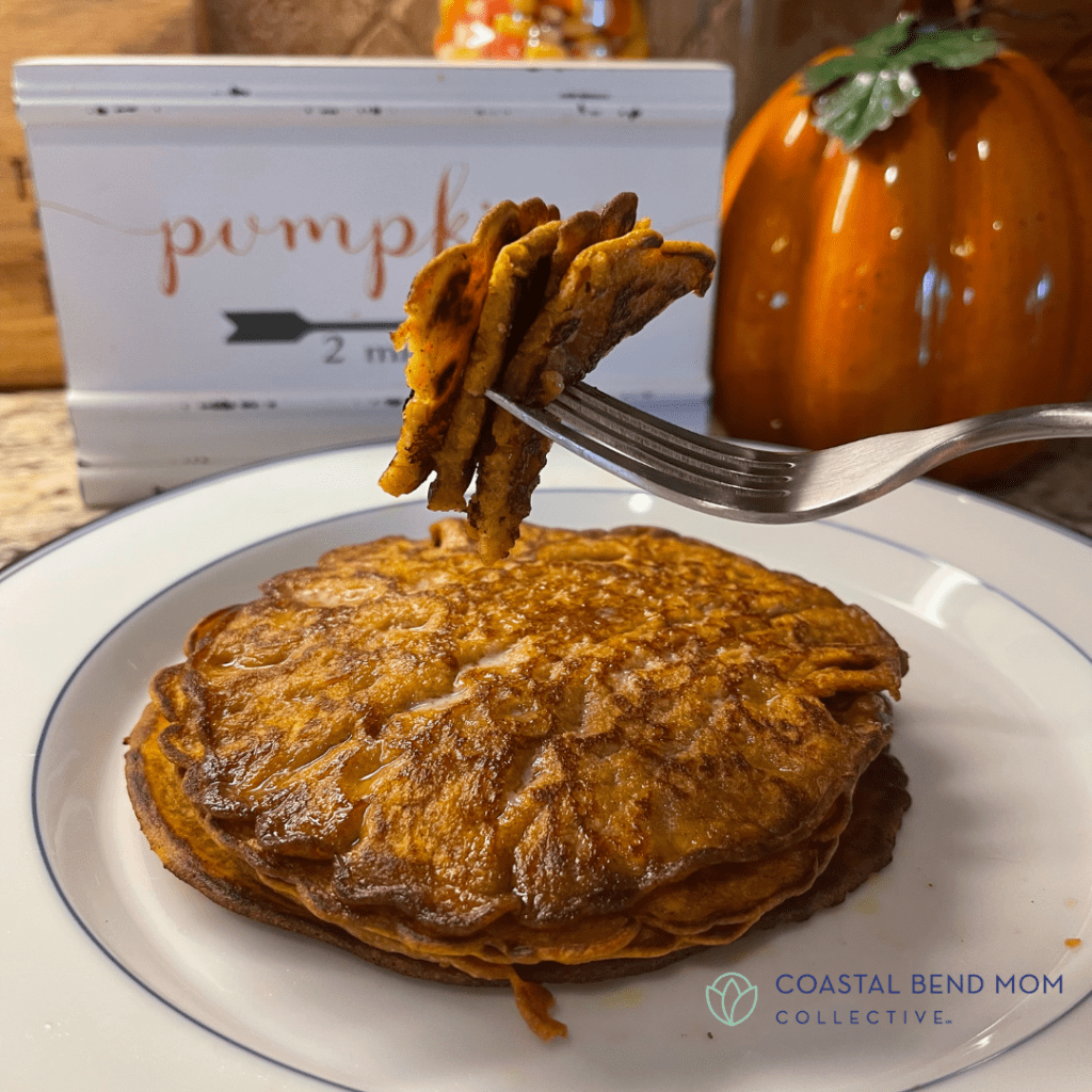 A Delicious Forkful of Perfect Pumpkin Pancakes
