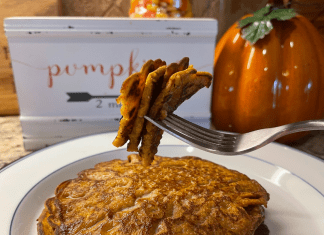 A Forkful of Delicious Pumpkin Pancakes
